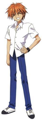Kaito Domoto achtergrond possibly containing a tabard, a parasol, and a hip boot entitled Kaito