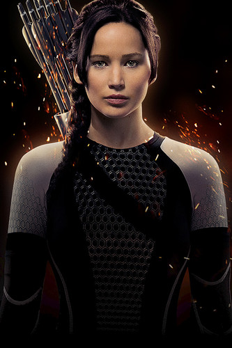 凯特尼斯·伊夫狄恩 壁纸 possibly with a cleaver and a breastplate entitled Katniss Everdeen CF Poster