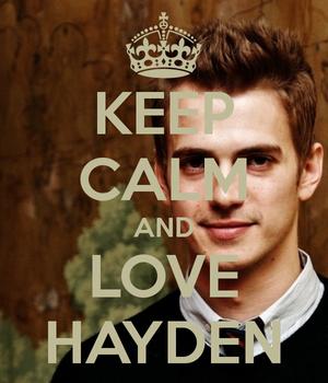 Keep Calm and 爱情 Hayden