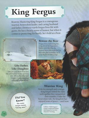 King Fergus (Brave Essential Guide)