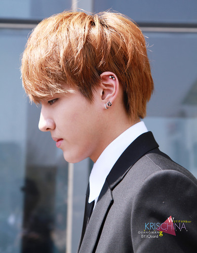 KRIS wallpaper with a business suit called Kris!<3