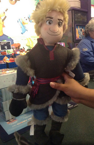 Kristoff Plush from Disney Store
