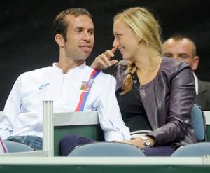 Kvitova is pregnant with Stepanek ?