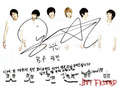 Kwangmin's signature - kpop-boyfriend photo