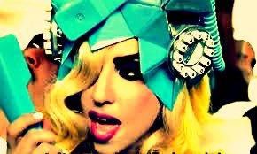 Lady Gaga:) Telephone:)