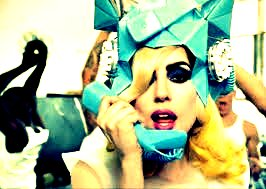 Lady Gaga:) Telephone:)