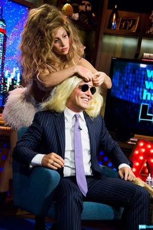 Lady Gaga on 'Watch What Happens Live' (Sept. 11)
