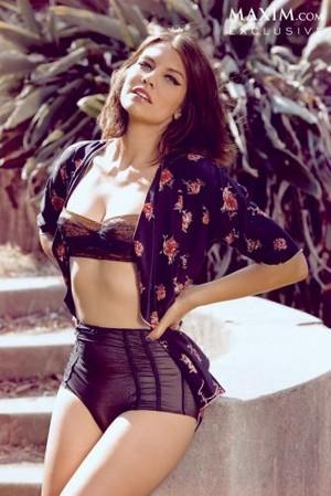Lauren Cohan// Maxim Magazine 2013