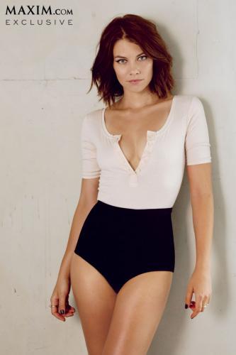 Lauren Cohan// Maxim Magazine October 2013