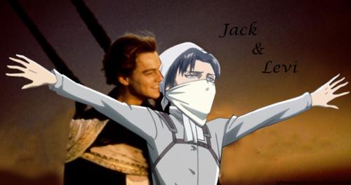 Levi: attack on Titanic