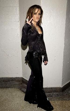Lisa In Black !