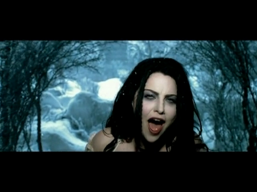 Evanescence Wallpaper Probably With A Television Receiver And A High  Definition Television Entitled Lithium