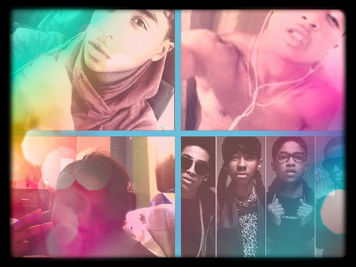 Roc Royal (Mindless Behavior) wallpaper possibly containing a portrait titled ME   ROC ROYAL=LOVE