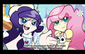 MLP x PSWG - panty-and-stocking-with-garterbelt fan art