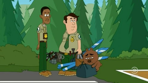 Brickleberry wallpaper containing anime called Malloy humping