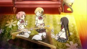 Mami, Madoka, & Homura