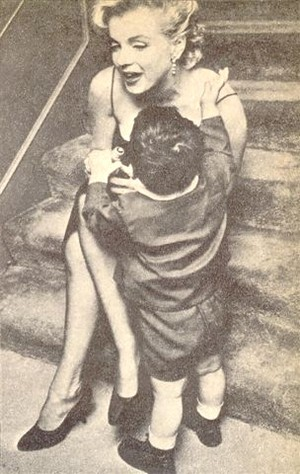 Marilyn with children