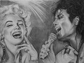 Marylin and Michael - marilyn-monroe fan art