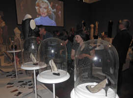 Marilyn's Assortment Of Designer Shoes On Display