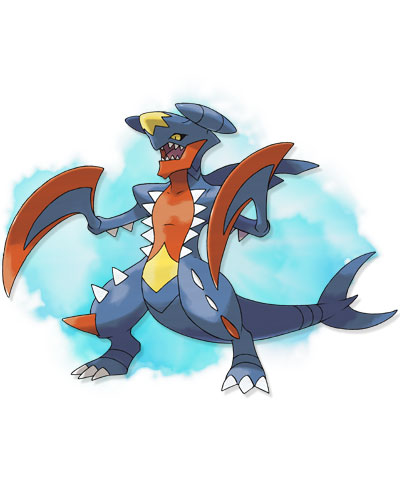 Pokémon wallpaper called Mega Garchomp