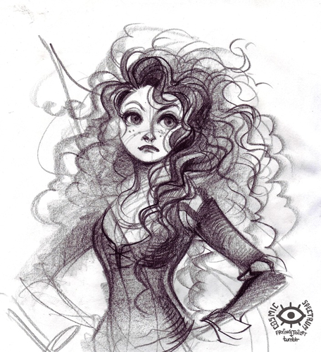 Merida - Legende der Highlands Hintergrund possibly with a red cabbage and Anime called Merida