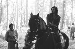Merlin filming