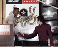 Michael And Bill Bellamy - michael-jackson photo