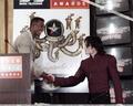 Michael And Bill Bellamy - michael-jackson photo