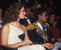 Michael And Brooke At The 1984 Grammy Awards - michael-jackson photo