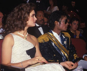 Michael And Brooke At The 1984 Grammy Awards