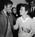 Michael And Joel Grey - michael-jackson photo