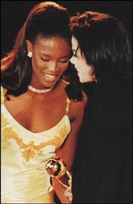 Michael And Naomi Campbell