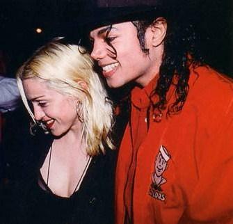 Michael and 마돈나