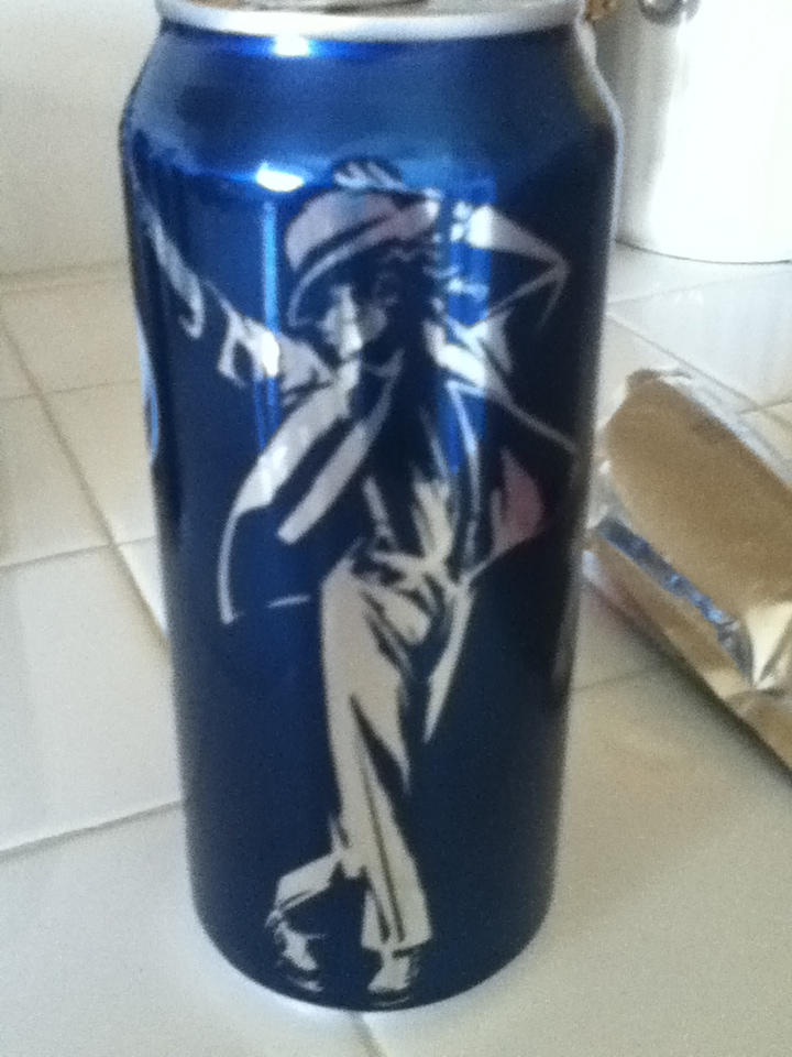 Michael's Image On A Pepsi Can
