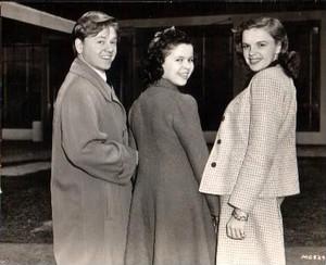 Mickey Rooney, Shirley Temple, Judy Garland