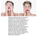 Miley Cyrus-Wrecking Ball Symbolism  - miley-cyrus photo