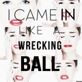 Miley Cyrus-Wrecking Ball
