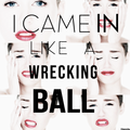 Miley cyrus-Wrecking Ball - miley-cyrus fan art