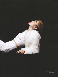 Miley's Nation magazine shoot