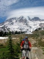 Mt Rainier Climb - hiking photo