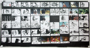 Mulan Reflection storyboards