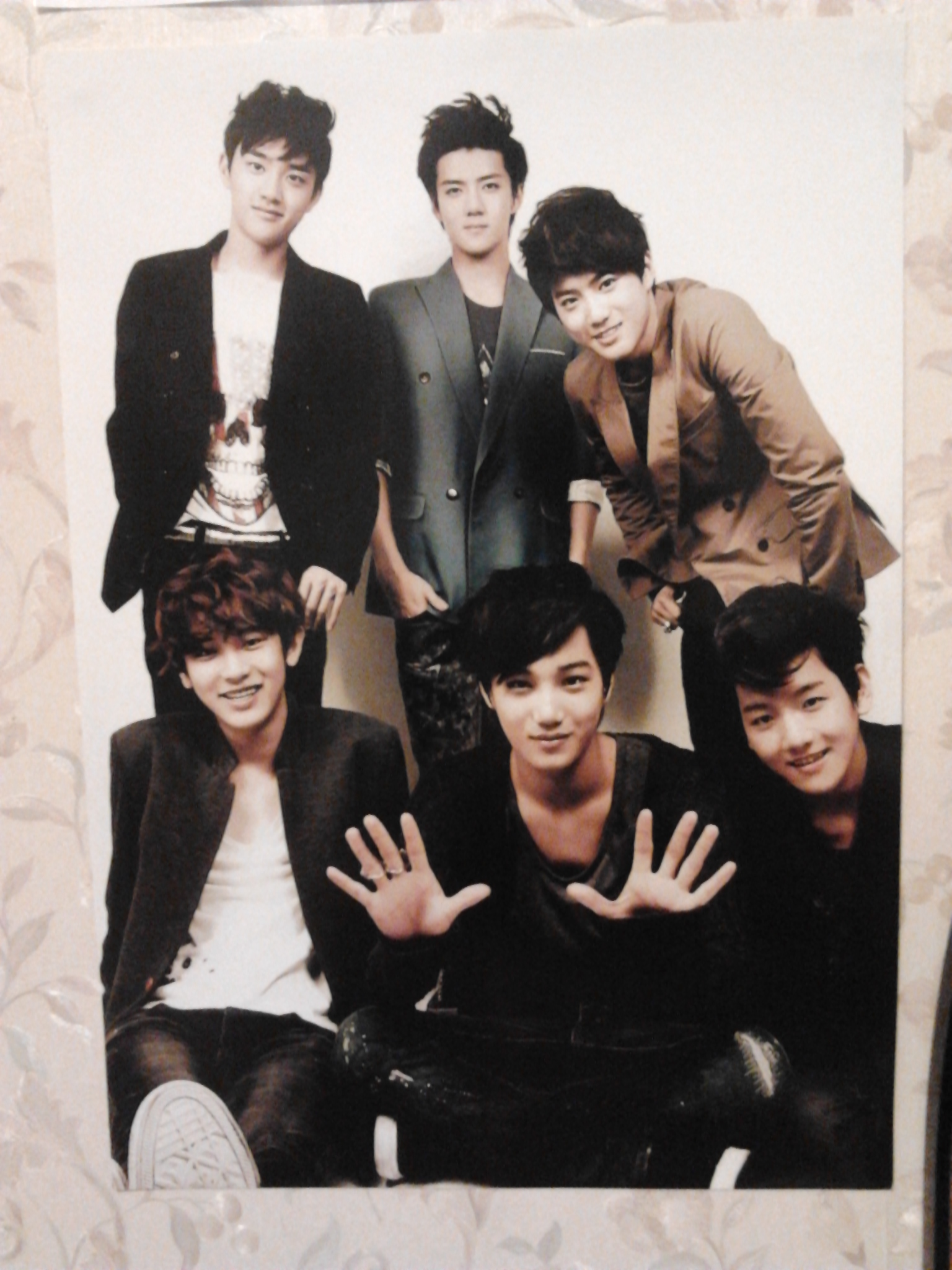 my exo k exo m posters soul dragneel photo 35597446 fanpop. Black Bedroom Furniture Sets. Home Design Ideas
