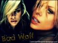 My a new Walppaper with Billie Piper, Bad Wolf from the series Doctor Who, made by Me, with Photosho