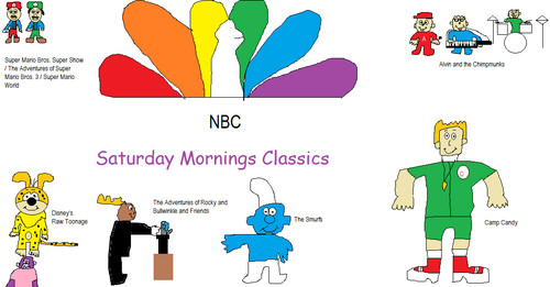 NBC wallpaper entitled NBC Saturday Morning Montage