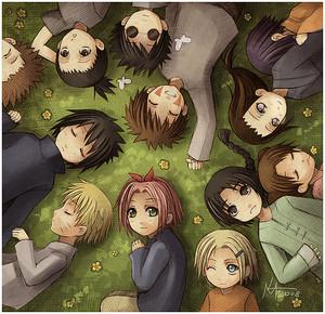 Naruto Childhood Friends♥