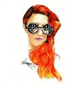 Neon Hitch Tumblr Drawing