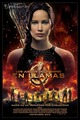 New international poster for The Hunger Games: Catching api, kebakaran