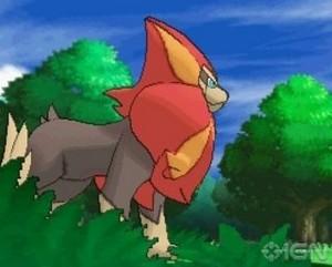 New pokemon, Pyroar leaked