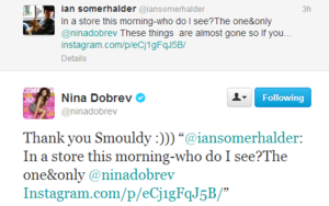 Nian today on twitter