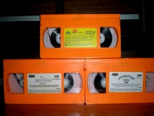 Nickelodeon orange Tapes